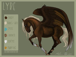 COMMISSION: LYRE by THE-WEATHERED-RAVEN