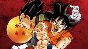 Goku and Vegeta DBS