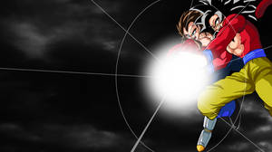 SSJ4 Goku and Vegeta (Wallpaper)