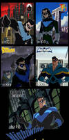 Nightwing through the ages