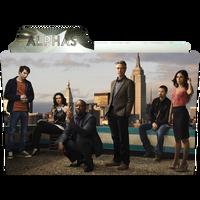 Alphas TV Folder Icon by SFCAirborne51