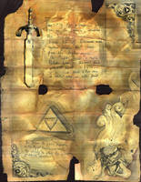 legend of Zelda Manuscript by Unttin7