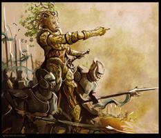 Dryad General by WanderingInPixels