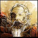 Tech Priest portrait