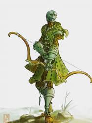 warforged ranger by WanderingInPixels