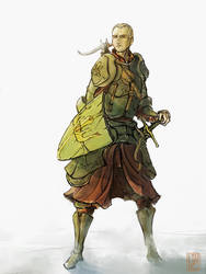 warrior by WanderingInPixels