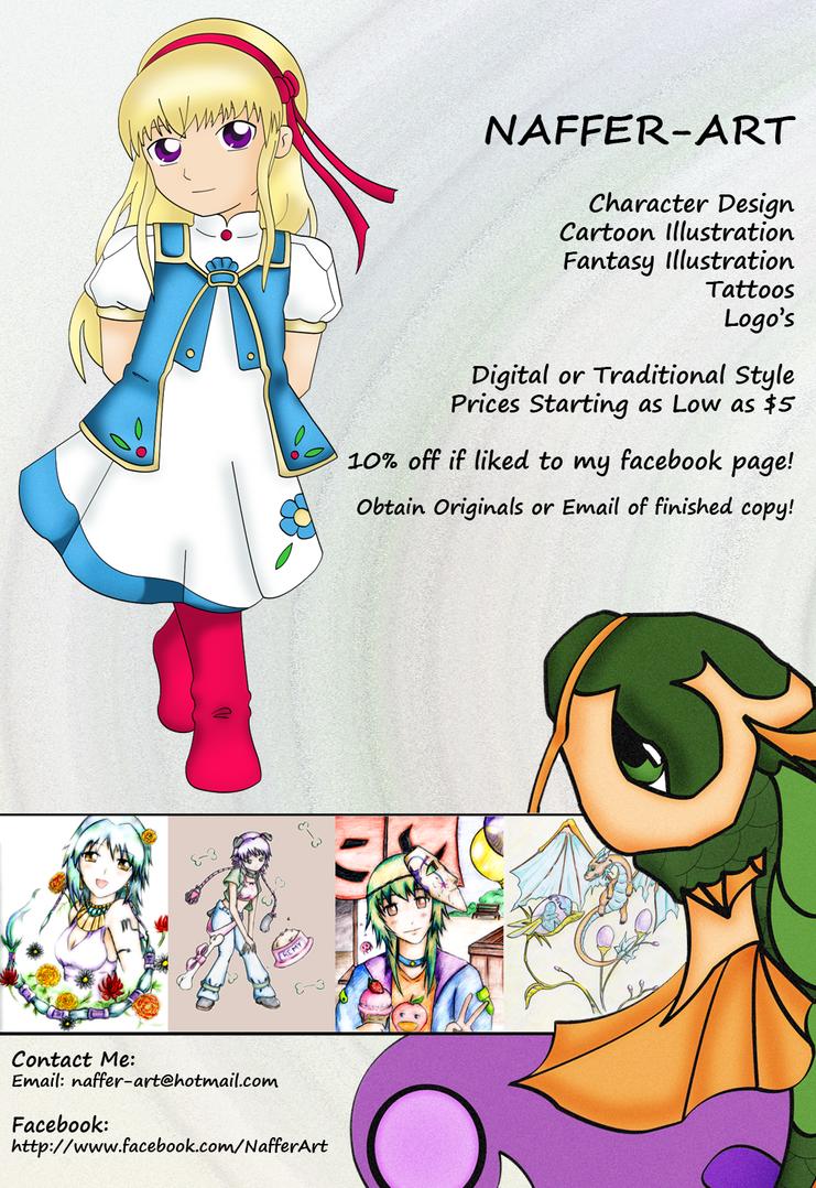 Commission Me :3 by KS-Portfolio