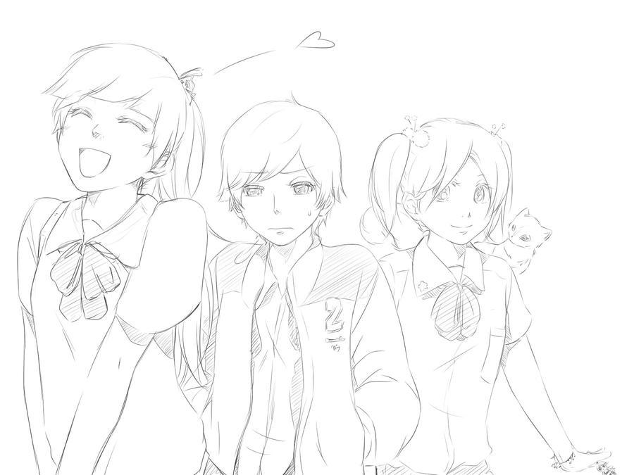 The PowerPuff Girls by MiyajimaMizy