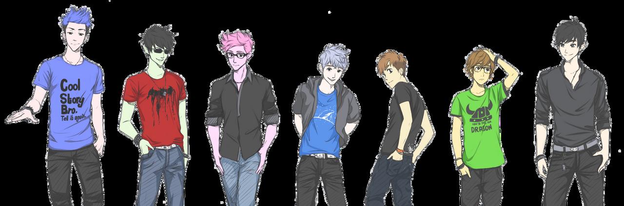 My favourite boys +1 (2) (Music link) by MiyajimaMizy