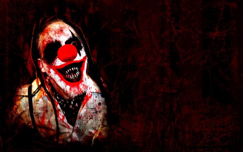 Killer Clown Wallpaper By Karlthulhu