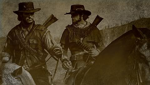 Red Harlow and John Marston by o-OPAZO-o