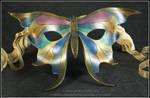 Metallic Butterfly mask