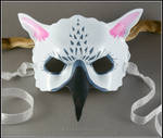 Gray Gryphon leather mask