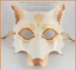 Golden Wolf Full Mask