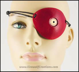 Creepy Eyeball eyepatch by EirewolfCreations