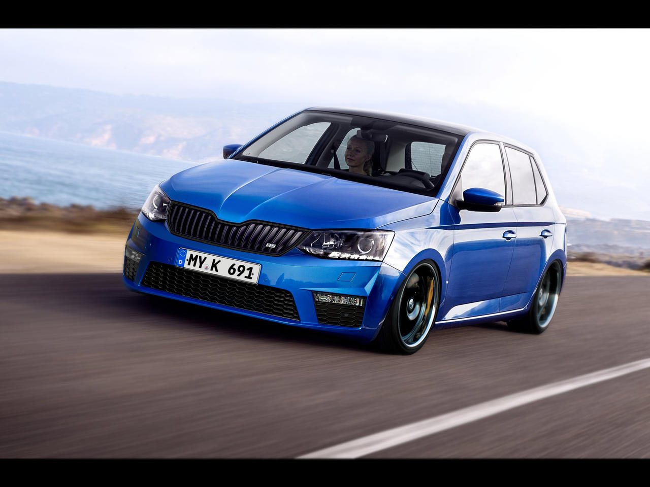 skoda fabia rs 2016 by no5master on deviantart