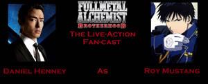 FMA:B FanCast REcast: Daniel Henney as Roy Mustang