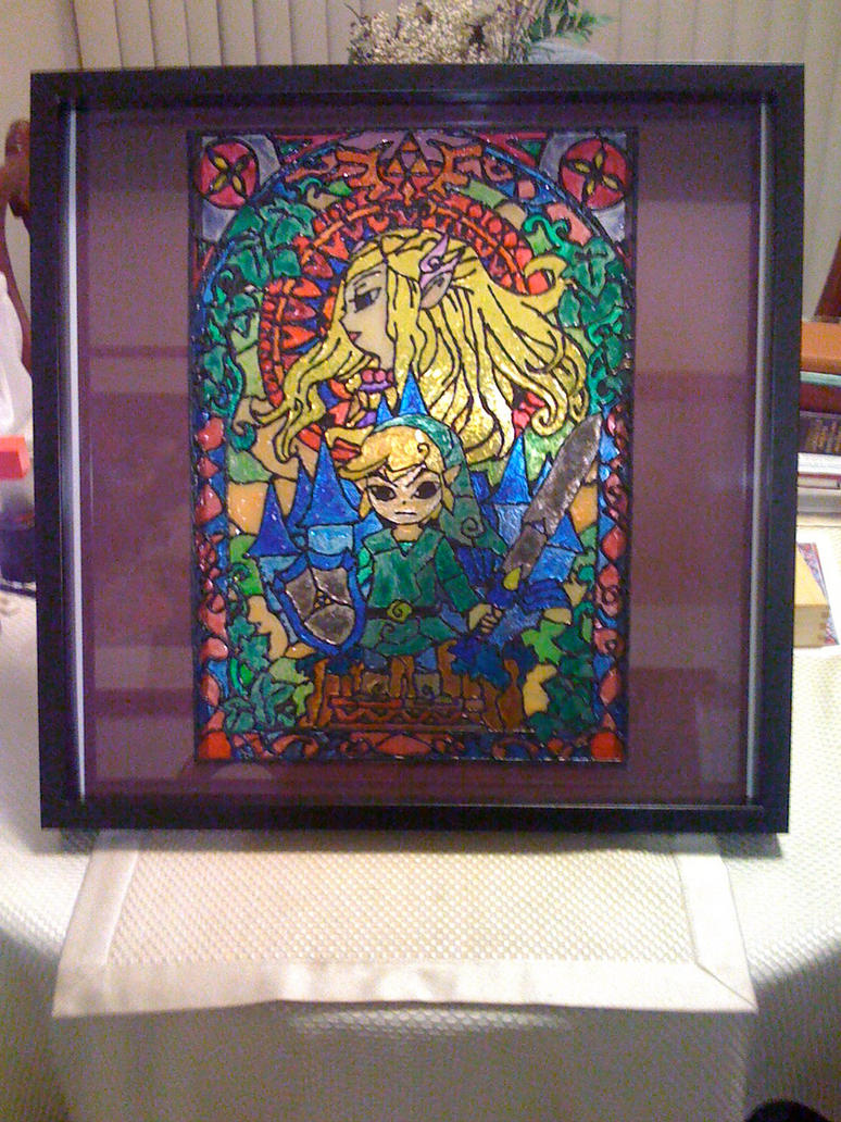 Zelda Stain Glass - Completed by neoGreatFox