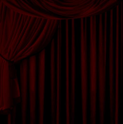 Heavy red velvet curtain texture