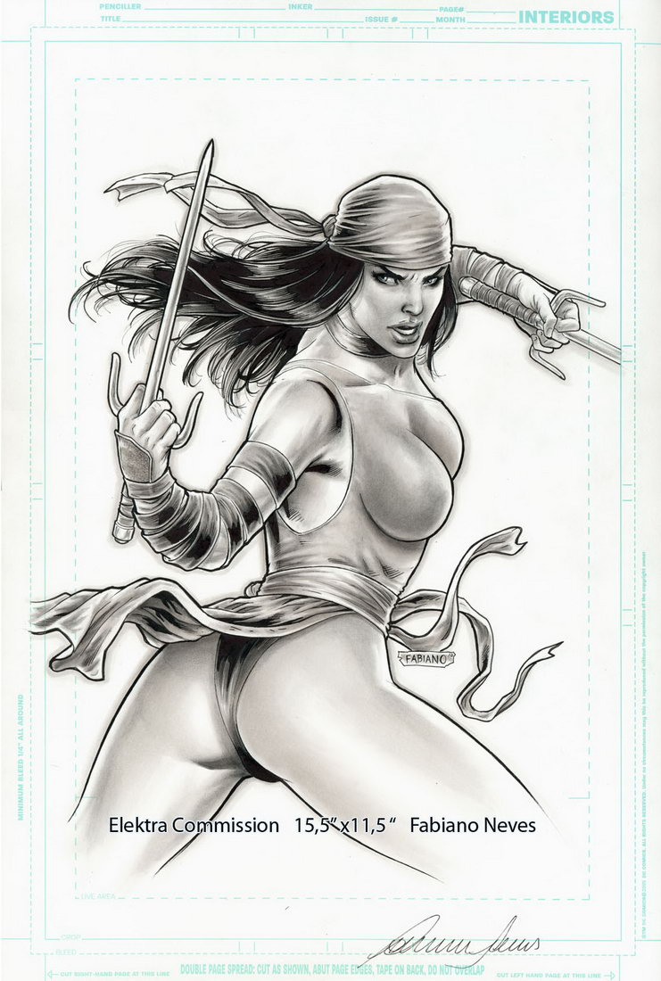 Elektra Commission by FabianoNeves