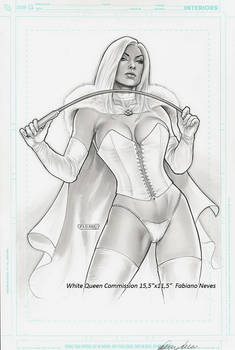 Emma Frost Commission