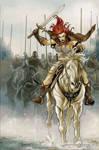 Queen Sonja 19 Cover Colors