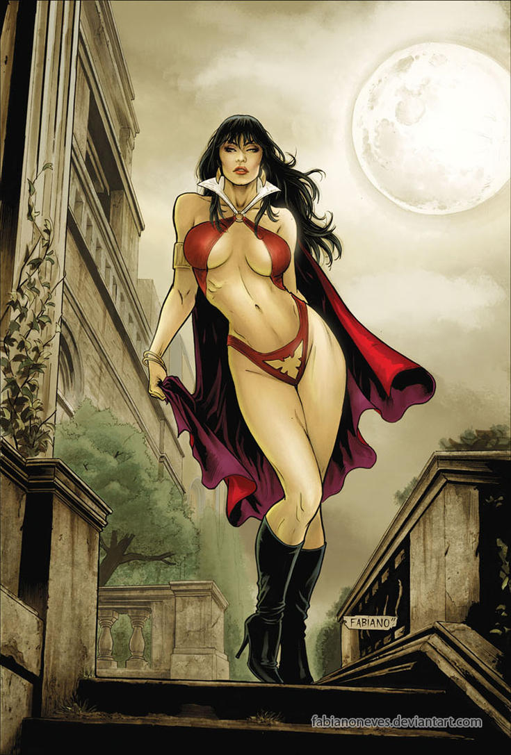 Vampirella 07 Cover Colors by FabianoNeves