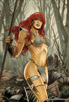 Red Sonja 60 Cover Colors