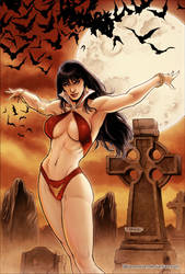 Vampirella 06 Cover Colors by FabianoNeves