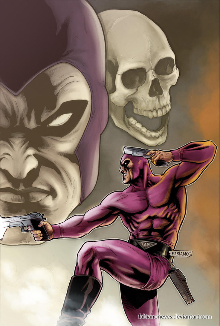 The Last Phantom 10 Colors by FabianoNeves