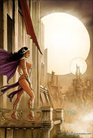 Dejah Thoris 16 Cover Colors by FabianoNeves