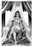 Dejah Thoris 12 Cover Art by FabianoNeves