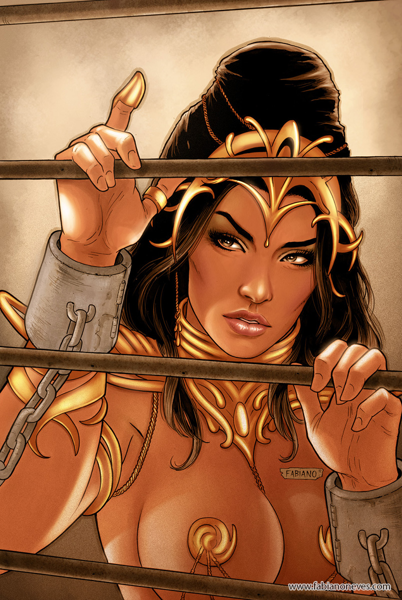 Dejah Thoris 22 Cover Colors by FabianoNeves