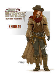 Concept Redhead - The Few and Cursed by FabianoNeves