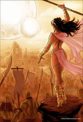 Dejah Thoris 35 Cover Colors by FabianoNeves