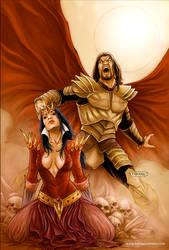 Blood Queen vs Dracula 01 Cover Colors