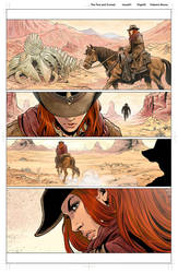 The Few and Cursed Issue 01 pg02 colors