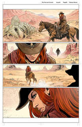 The Few and Cursed Issue 01 pg02 colors by FabianoNeves