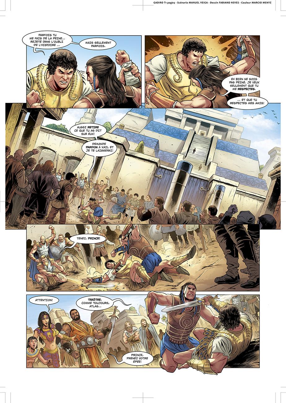 GADIRO, AMBASSADEUR DE LATLANTIDE T1 PAGE4