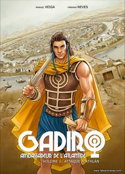 GADIRO, AMBASSADEUR DE LATLANTIDE T1 COVER