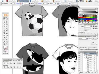 T-shirt Design by asskick