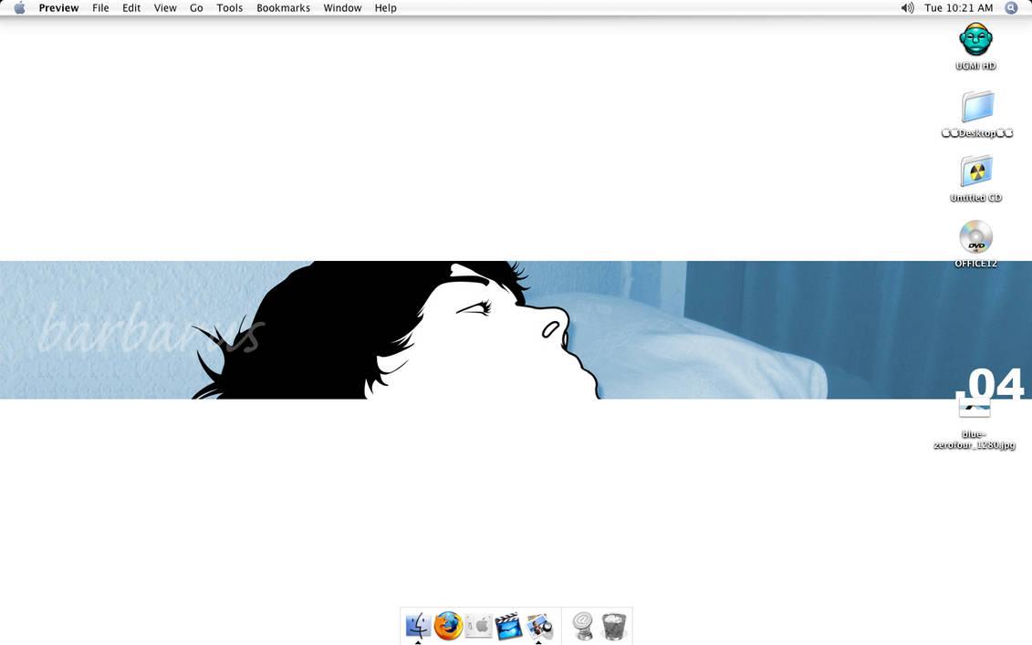 MAC OSX desktop screenshot