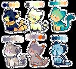 Feline OTA adopts 1 (1/6 OPEN) by starallies