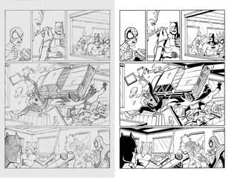 Pencils+inks Page#2