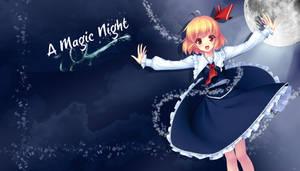 Rumia Magic night by AinoWallen