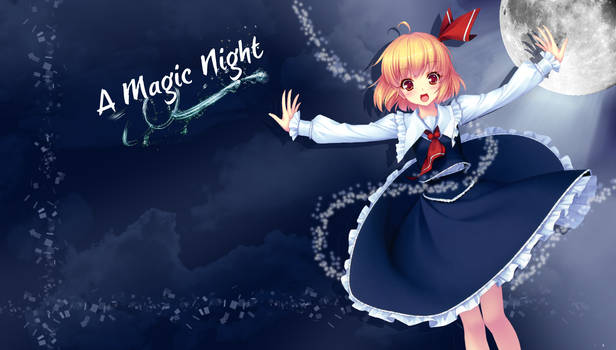 Rumia Magic night