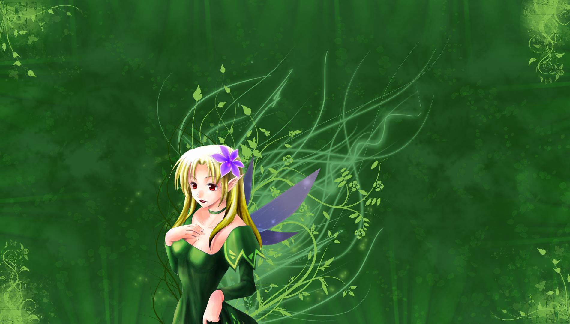 Earth Fairy by AinoWallen on DeviantArt
