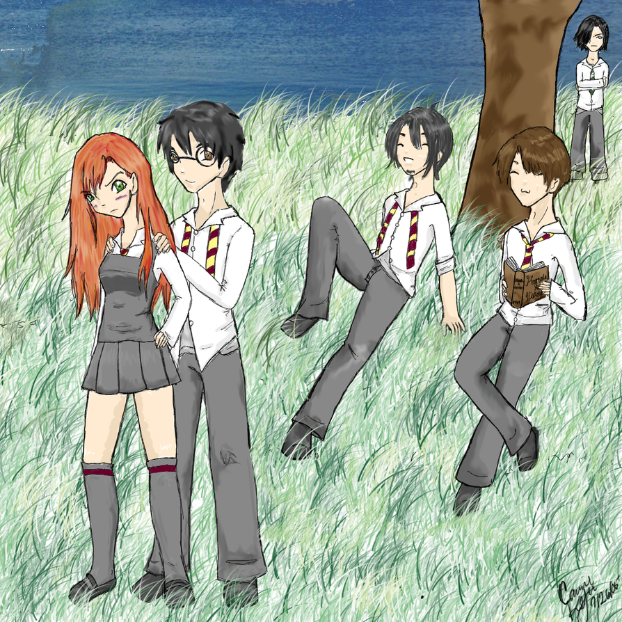 James And Lily Potter Grave Lily+james by cassae
