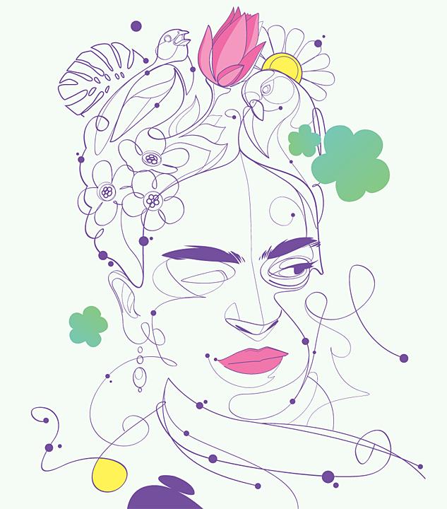 Frida Kahlo by rubenslp
