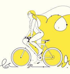 While world's panicking I'm riding my bicycle